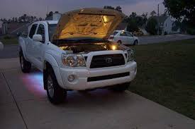 All Those Mods Lights under the hood