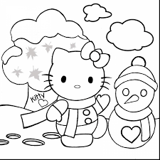 brilliant kitty coloring pages games kids