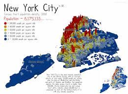 Population Density Map New York Population Density Map New York Map
