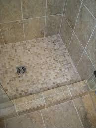 Bathroom Shower Floors Tiles Glamorous Mosaic Tile For Shower Floor Bathroom Tiles
