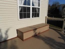 Deck Storage Bench Waterproof Storage Bench Deck Bench Benches Decks R Us