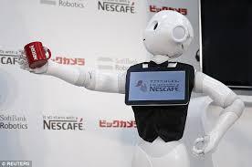 Seeking Robot Date Softbank Robotics Pepper The Robot Sells Out In One Minute