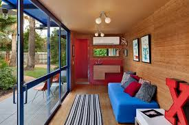 shipping container home interiors container guest house living room home decorating trends