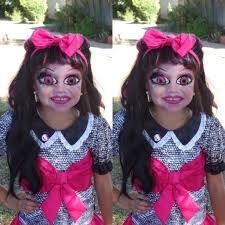monster high draculaura halloween transformation youtube