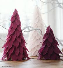 paper christmas decorations crepe paper christmas tree decorations lia griffith