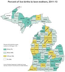 Michigan Township Map by 2015 Right Start Michigan League For Public Policy