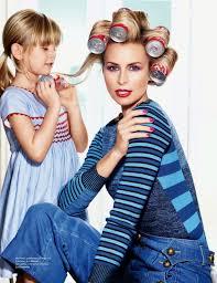 niki taylor talks about pregnancy popsugar moms niki taylor allure mom life roller set high fashion blonde