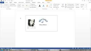 how to use microsoft word to make id badges youtube