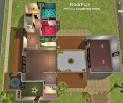 The Sims 2 Kitchen And Bath Interior Design Mod The Sims Contemporary Courtyard 4 Bedroom 2 Bath With