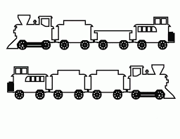coloring page train car train coloring page for kids train for christmas canadian train