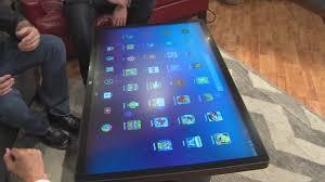 Computer Coffee Table Smart Coffee Table Youtube