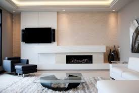 fireplace in living room modern concrete fireplace surround modern living room detroit
