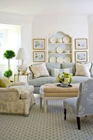Patterned Armchair Surprising Decor Ideas For Small Living Room White Wall Shelf