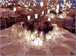 d coration mariage chetre déco mariage centre lumineux table mariage 23 idées élégantes