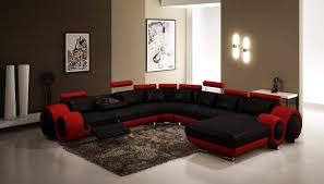 best fresh modern black sectional leather sofa 737