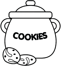 Christmas Cookie Coloring Pages How To Draw Jar Sky Best Coloring Cookies