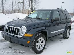 jeep liberty limited 2006 jeep liberty limited 4x4 in midnight blue pearl 132456