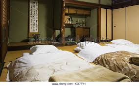 Traditional Japanese Bedroom - japanese futons stock photos u0026 japanese futons stock images alamy