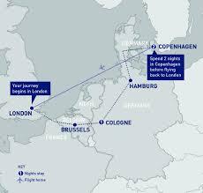 Copenhagen Map Cologne And Copenhagen
