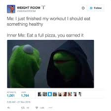 Text Message Meme 001 Wrong - 19 me vs inner me evil kermit memes that will make you say yup