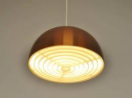 vintage copper ceiling light scandinavian vintage copper pendant l 1960s for sale at pamono