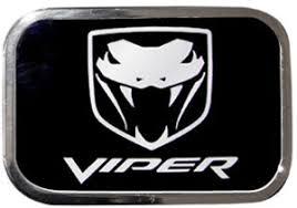 dodge viper logo dodge viper logo belt buckle car or truck belt buckles