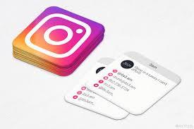 mini business cards free instagram business cards danielpinchbeck net