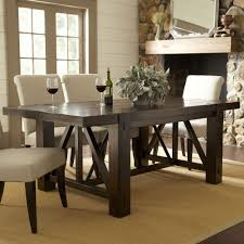 birch lane belvedere dining table a contemporary double pedestal