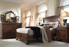 King Headboard Cherry Bedroom Beauteous Image Of Bedroom Decoration Using Solid Cherry