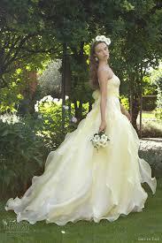 yellow dress for wedding emé di emé wedding dresses 2013 wedding inspirasi