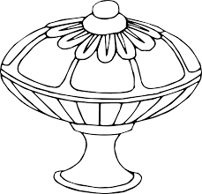 Vase Drawing Clipart Vase 13 Line Drawing
