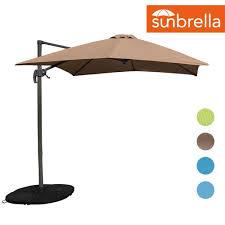 Patio Umbrella Frame 8 2ft Square Hanging Roma Offset Umbrella Outdoor Patio Sun Shade