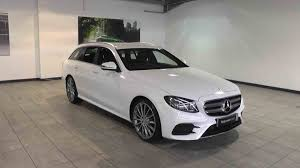 mercedes e class estate used used mercedes e class estate diesel in polar white from