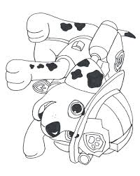 paw patrol coloring pages to print eson me