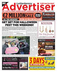 letterkenny advertiser october 2016 by neil murray issuu