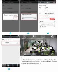 Zgwang Hd 720p Wifi Ip Camera Wireless Network Home Security