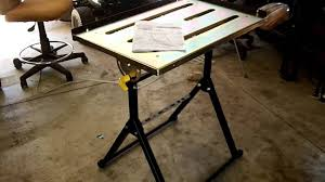 harbor freight welding table harbor freight adjustable welding table youtube