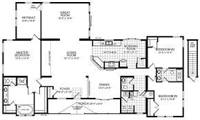 Three Bedroom Townhouse Three Bedroom House Floor Plans