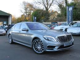 mercedes s class for sale uk used 2013 mercedes s class s350 bluetec l amg line executive