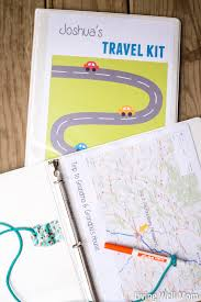 travel kit binder 150 free printable activities