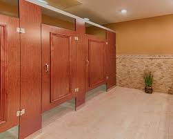 Toilet Partition Hardware Ironwood Manufacturing Headrail Braced Restroom Partition