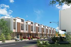 architecture and civil engineering row houses in karad by
