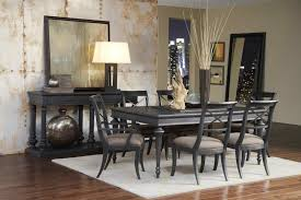 pulaski dining room furniture the images collection of leg table dining room set in charcoal black