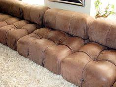 Bellini Leather Sofa Mario Bellini
