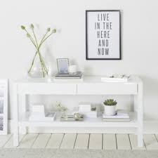 Low Console Table Carlton Low Console Table Home Accessories Sale The White