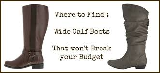 womens boots large calf where to find wide calf boots that the budget