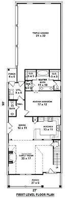 narrow lot floor plans plans home plans for narrow lots