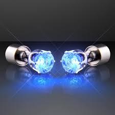 led earrings blue light up led earrings for pierced ears buy led earring