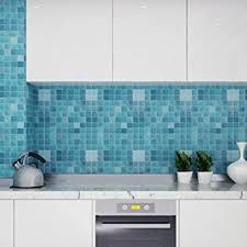 Self Adhesive Kitchen Backsplash by Amazon Com Chinatera Peel And Stick Tile Kitchen Backsplash