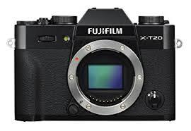 amazon black friday app only amazon com fujifilm x t20 mirrorless digital camera black